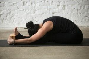 sitting forward bend iyengar yogamin  mind body